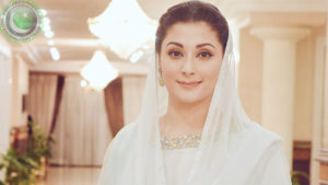 Maryam Nawaz beautiful in white dress