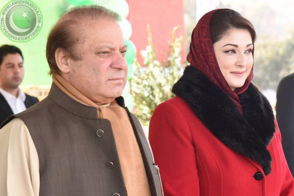 Maryam with father pic