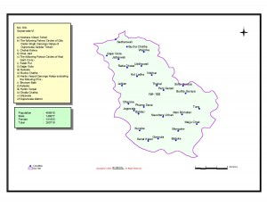 NA-100 Gujranwala VI National Assembly Constituency Area Map & Information