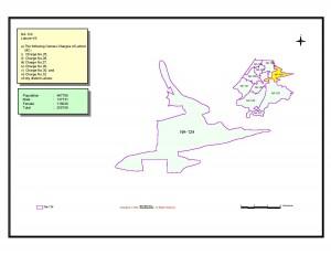 NA 124 Lahore map