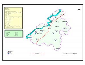 NA 128 Lahore map