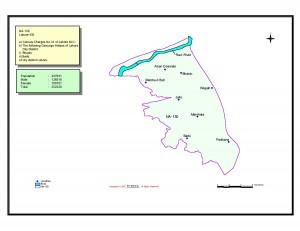 NA 130 Lahore map