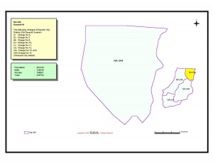 NA 244 Karachi map