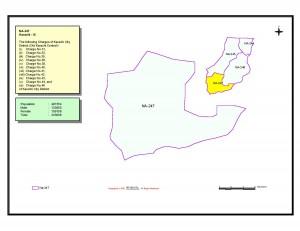 NA 247 Karachi map