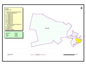 NA 255 Karachi map