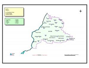 NA 58 Attock-II map