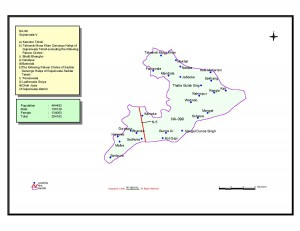 NA-99 Gujranwala V National Assembly Seat Area Map & Electoral Information
