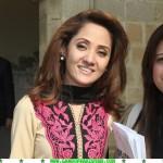 Gharida Farooqi paki newscaster