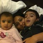 nusrat haris family pics