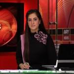 Aini Ali newscaster, Aini Ali black dress