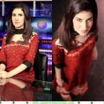 Absa Komal hot, Absa Komal red hot dress