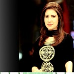 Absa Komal black dress, Absa Komal beautiful