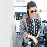 Madiha Naqvi petrol pump pic