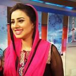 Madiha Naqvi pink salwar kameez dress