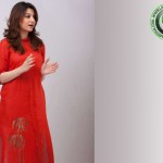 Nabeeha Ejaz red hot salwar kameez
