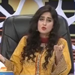 Ayesha Jahanzeb yellow dress
