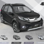 Honda BRV Pakistan Black color