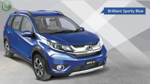 Honda BRV Pakistan blue color photo