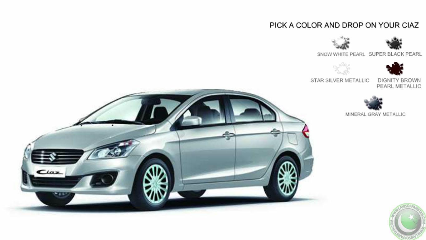 Suzuki Website Pakistan