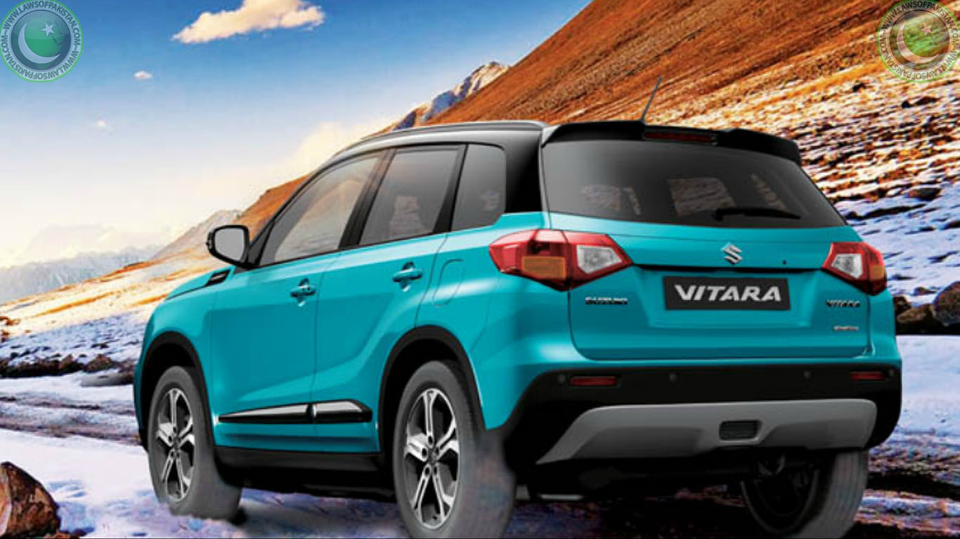 suzuki vitara 2017 review pictures price in pakistan. Black Bedroom Furniture Sets. Home Design Ideas