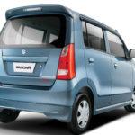 Suzuki Wagon R 2017 back view pic