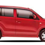 Suzuki Wagon R 2017 Red Color Image