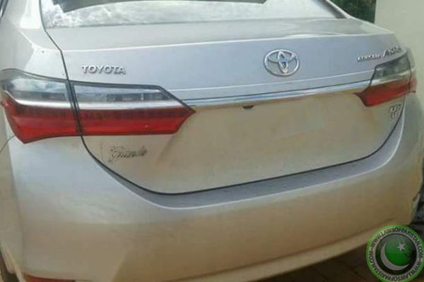 Toyota Corolla Facelift back pic