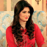 Hifza Chaudhary beauty in red