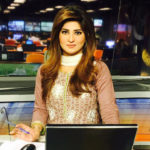 Hifza Chaudhary hot anchor of GEO TV