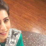 Huma Amir Shah selfie