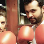 Huma Amir Shah boxing with friend pic