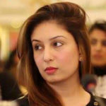 Mahrukh Fahad Qureshi close face picture